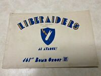 WW2 461st Bomb Group (H) Liberators At Large Italy 1944 Booklet 15th Air Force
