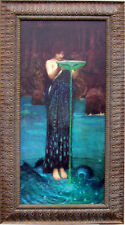 John William Waterhouse  Custom Framed Classic Canvas Circe Invidiosa 24 x 43 XL