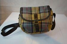 Barbour  tartan crossbody handbag small  leather strap
