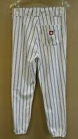 WILSON PERFORMANCE IN EVERY STITCH White with RED STRIPE SMALL BASEBALL PANTS