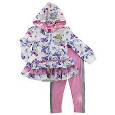 Disney Princess Cinderella Girl Ruffle Hoodie Jacket Leggings Outfit/Set 2T 24M