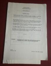 British Railways London Midland Region Llandudno Resignalling Notice Feb 1985