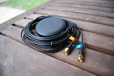 GPS +GSM/3G/4G Combo Antenna SMA Adhesive 3M(Small disc)