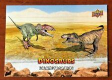 2015 Upper Deck Dinosaurs Giganotosaurus Trading card #3