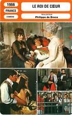 FICHE CINEMA : LE ROI DE COEUR - Brasseur,Brialy,Bujold 1966 King of Hearts