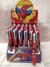 Marvel Spiderman 4 Color Bolígrafo-Gran Regalo para Niños/Escuela/Navidad