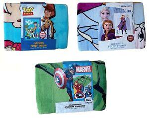 Disney Oversized Plush Throw 150x198cm Super Soft Blanket, Toy Story, Frozen 2