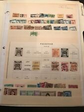 Collection of Palestine stamps