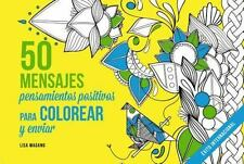 50 MENSAJES LIBRO DE COLOREAR ADULTOS/ 50 MESSAGES ADULT COLORING BOOK - MAGANO,