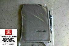 NEW OEM TOYOTA 4RUNNER 2003-2009 STONE (GRAY) FLOOR MATS & CLIPS