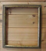 """Vintage Wood Gold frame 16-3/8"""" X 14-1/4"""""""
