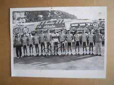 Cartolina Ciclismo ATALA Ofmega 1987 Gianni Bugno Podenzana Calcaterra [GS50]