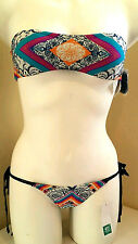 RIP CURL Womens 2-Piece FOLK FEVER Bikini Size SMALL, NEW WITH TAGS, 2for1 Deal!