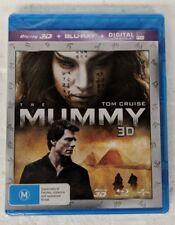 THE MUMMY 3D Blu-ray + 2D Blu-ray 2-DISC Region B oz seller Tom Cruise