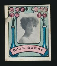 1911 T332 Helmar Cigarettes ACTRESS STAMPS -Billie Burke (flowers) -Wizard of Oz