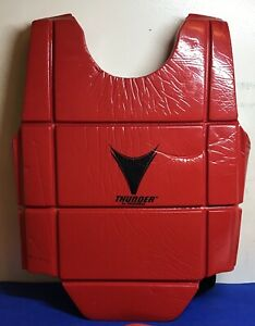 Thunder By ProForce Martial Arts Red Protective Sparing Gear Youth Small
