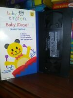 Baby Einstein BABY MOZART  Musical Experiences Vhs Video Tape 1998 FREE SHIPPING