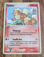 Carte Pokémon CANINOS 50 PV 55/92 EX Créateurs de Légendes VF