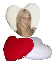 Cuscino cuore due colori con la vostra foto o frasi (fotogadget)