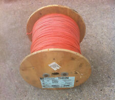 14 AWG STRD COPPER WIRE ORANGE-GRAY-GREEN-BROWN  2500' ROLL THHN / MTW  / THHN