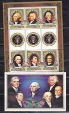 Belize 815-16 US Presidents Mint NH