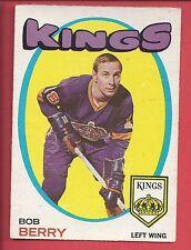 1971-72 O-Pee-Chee Hockey # 76 BOB BERRY