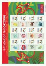 Hong Kong postfris 2009 MNH sheet - Jaar van de Os (XL148)