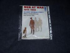 MEN AT WAR 1914 - 1945 AMERICAN ARMY OF WORLD WAR I - WITH FIGURE MINT DEL PRADO