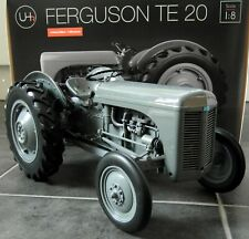 UH 1/8 Scale - Large 35cms Massey Ferguson TE 20 Grey Resin model Farm Tractor
