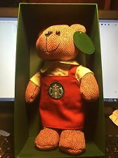 NEW Starbucks® 2016 LIMITED EDITION Bearista Bear with the red apron