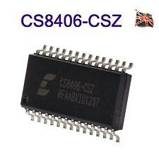 CS8406-CSZ CS8406 192 KHZ DIGITAL AUDIO INTERFACE TRANSMITTER SOP28 UK Stock