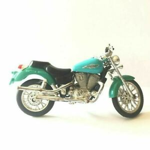Maisto 1:18 HONDA SHADOW VT1100C2 (Turquoise) Moto Moulé sous Pression (M-01)