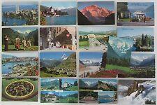 Sammlung Schweiz 17 AK ab 1956 ua. Genf, Lugano, Interlaken, Montreux, Iseltwald