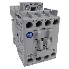NEW ALLEN-BRADLEY IEC 100C23J10 STANDARD CONTACTOR 23 AMP 24VAC NEW IN BOX
