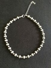 Carolyn Pollack Silver Beaded Necklace