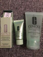 Clinique Liquid Facial Soap 30ml & 7ml Continuous Rescue Antioxidant Moisturiser