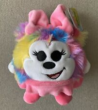 Disney Minnie Mouse Plush Tie Dye Slo Foam Stuffed Animal