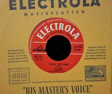 CONNY Froboess Electrola HMV 8790 I Love You Baby and Schicke Schicke Schuh