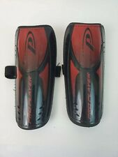 "Pro Player Shin Guards Soccer Plate Youth 8"" Red Protective Sports Gear"