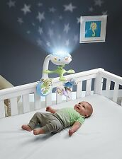 Baby Musical Infant Crib Toy Cot Bed Remote Mobile Projection Light Pram Playset
