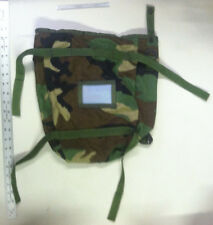 WOODLAND CAMO RADIO POUCH UTILITY POUCH MOLLE II USGI MILITARY 2 Bags - NEW