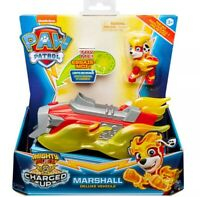 Paw Patrol MARSHALL's Deluxe Vehicle Charged Up  Mighty Pups New FAST POST