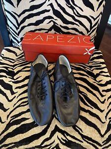 Capezio #EJ1A Black Jazz Shoes Size 11 Adult