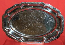 Vintage Ornate Metal Serving Tray