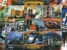 HONG KONG'S RETURN TO CHINA REPUBLIQUE DU NIGER 1999 MNH STAMP SHEETLET
