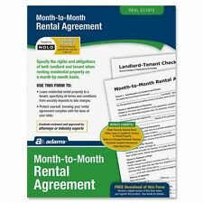Adams Monthly Rental Agreement Form Set - ABFLF255