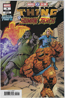 Marvel 2-in-One The Thing and The Human Torch #9 Marvel Comics VARIANT  COVER B