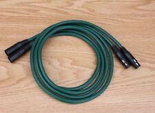 Pair Furutech FA-220 PCOCC CD XLR Plug interconnect audio cable 1.5m DIY Hiend