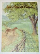 1 Special Friend Greeting Card/Envelope Partner Friendship Love Male/Female Tree