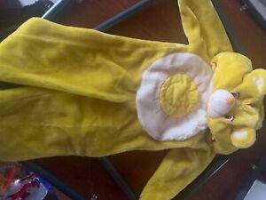 Sunshine Care Bear One Piece Large Halloween Costume Suit kids 2-4 toddler